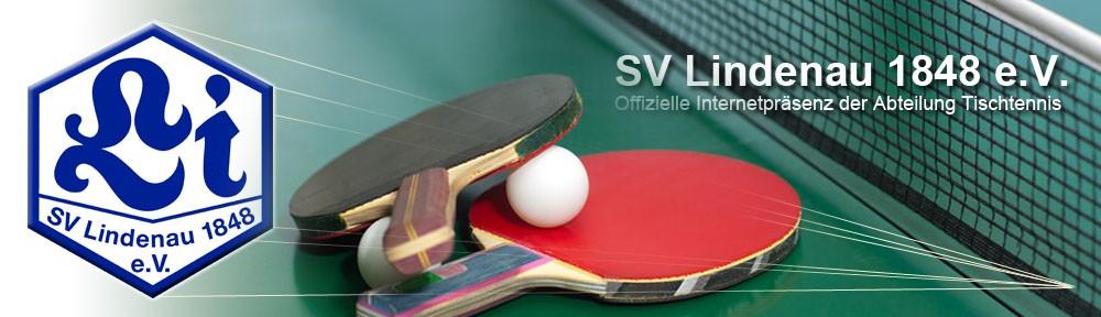 SV Lindenau 1848 e.V. – Tischtennis –
